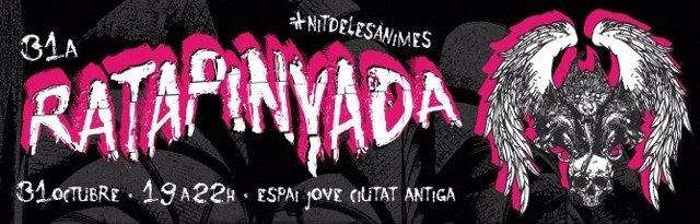 Cartel de la Nit de la Ratapinyada 2019 de Palma.