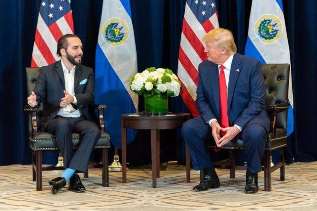 Nayib Bukele y Donald Trump