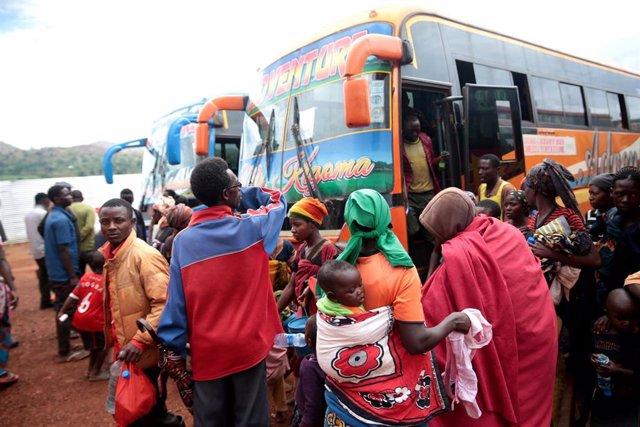 Programa de repatriación de refugiados de Burundi desde Tanzania