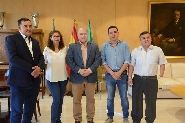 Sevilla.-Diputación analiza con alcaldes salvadoreños de Las Vueltas, Arcatao y