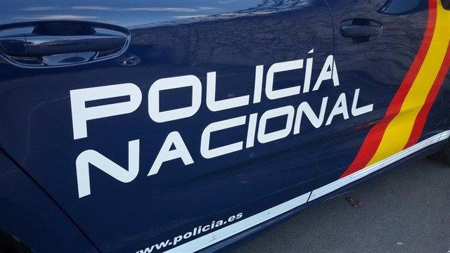 Foto de recurs d'un cotxe patrulla de Policia Nacional.