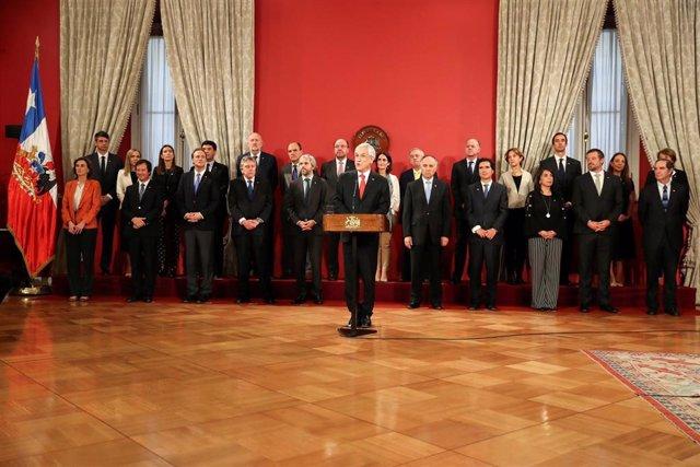 Sebastián Piñera anuncia un cambio de Gobierno