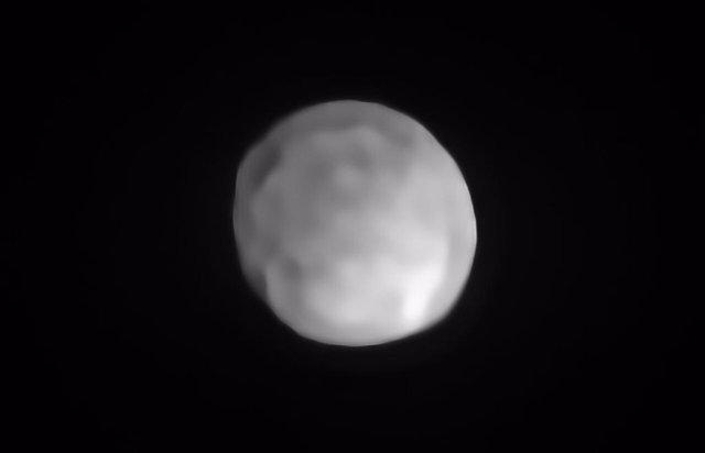 El asteroide Hygiea puede convertirse en el planeta enano más pequeño
