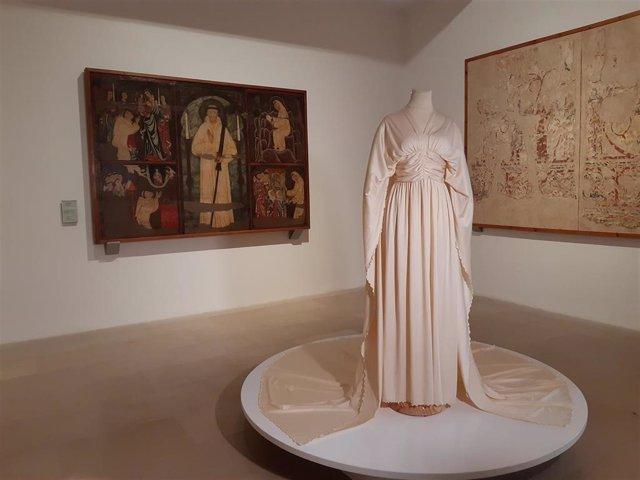 Una de las piezas de la exposición '100 años de glamour' de la Colección Antoni de Montpalau.