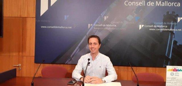 El portaveu del PP en el Consell de Mallorca, Llorenç Galmés.