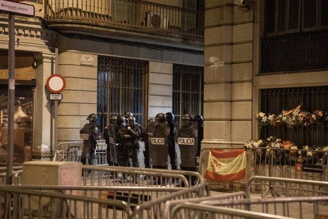 Séptima jornada de protestas en Barcelona contra la sentencia del procés