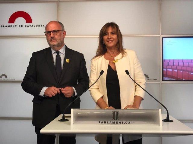E.Pujol i L.Borràs, JxCat