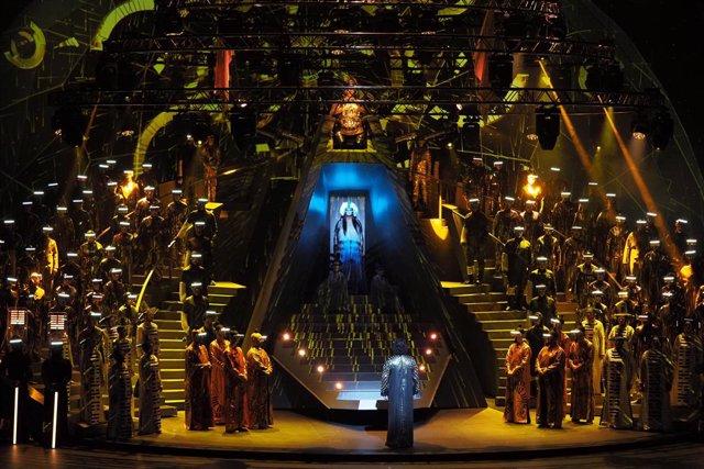 Una trencadora i feminista 'Turandot' enceta la nova temporada artística del Gran Teatre del Liceu de Barcelona (arxiu)