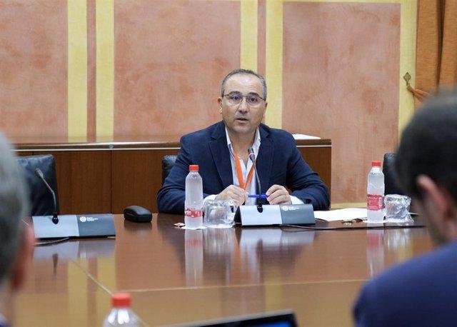Comparecencia del representante de COAG en el Parlamento de Andalucía sobre el Presupuesto de 2020.