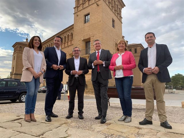 Presentación de la candidatura del PP Teruel a las elecciones generales del 10 de noviembre.