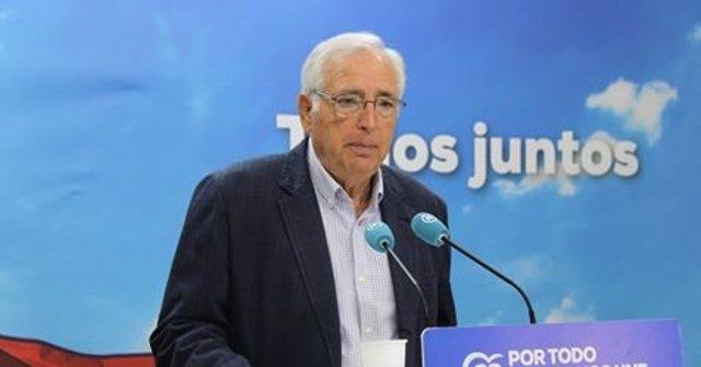 El senador por el PP de Melilla Juan José Imbroda