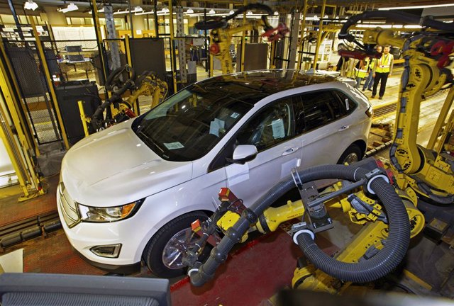 Producción del Ford Edge en Oakville (Canadá)