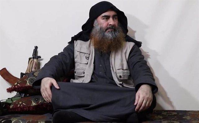 El líder de Estado Islámico, Abú Bakr al Baghdadi.