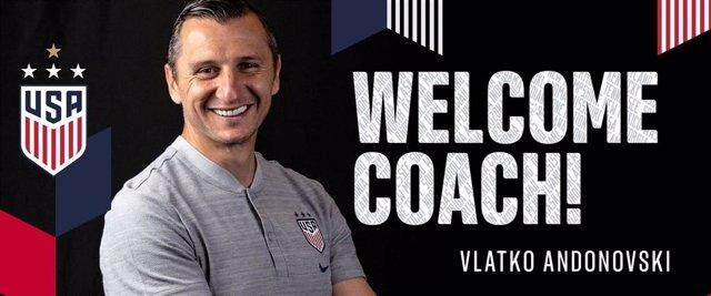 Vlatko Andonovski, nuevo entrenador de la selección femenina de Estados Unidos