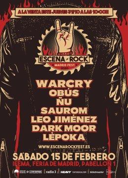 Nace Escena Rock, nuevo festival en IFEMA centrado en el rock y el heavy español