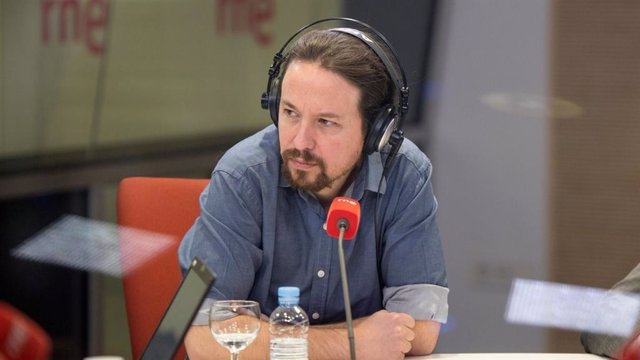 Entrevista a RNE al líder de Podem, Pablo Iglesias