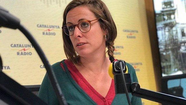 Mireia Vehí (CUP) a Catalunya Ràdio