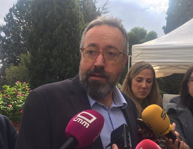 El candidato número uno de Ciudadanos por la provincia de Toledo a las elecciones del próximo 10 de noviembre, Juan Carlos Girauta