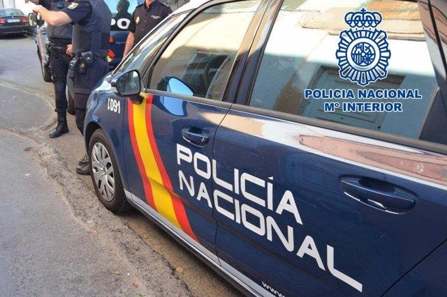 Imatge de recurs d'un cotxe patrulla de la Policia Nacional.