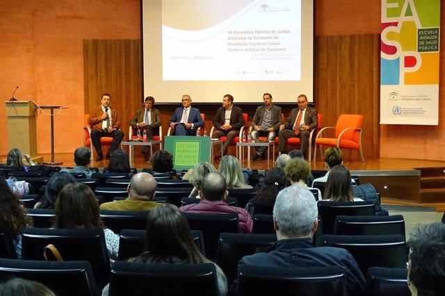 El VII Encuentro de Juntas Arbitrales de Consumo de Andalucía se reúne en Granada