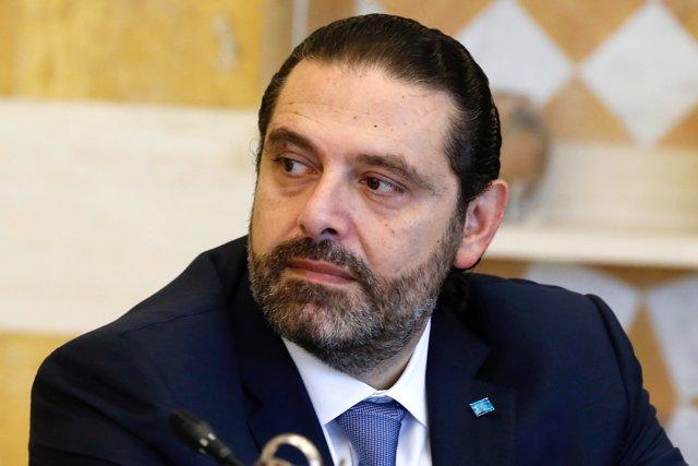 El primer ministro de Líbano, Saad Hariri.