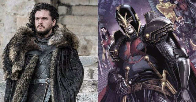 Kit Harington es Black Knight en Marvel