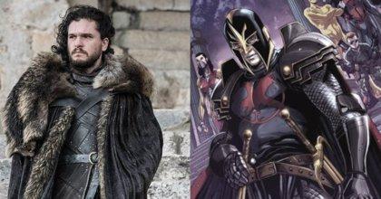 """Kit Harington (Jon Snow), """"emocionado y aterrorizado"""" por ser parte de Marvel en Los Eternos"""