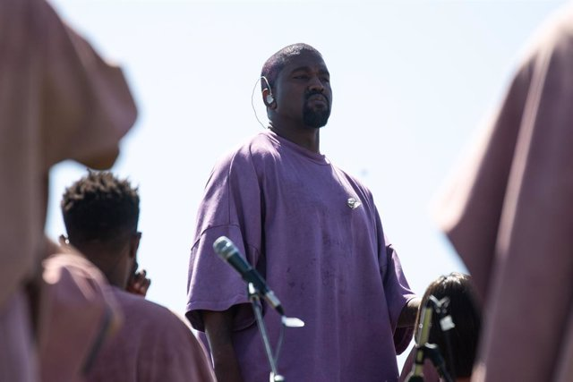 April 21, 2019 - Indio, California, United States: Kanye West's Easter Sunday Service during Weekend 2 of the Coachella Valley Music and Arts Festival at the Empire Polo Club on Sunday, April 21, 2019 in Indio, Calif. (Kent Nishimura / Los Angeles Times/C