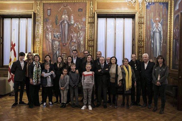 Barcelona reconeix la trajectòria cultural del director museístic Daniel Giralt-Miracle.