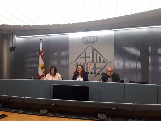 Sonia Fuertes, Laura Pérez y Lluís Torrens