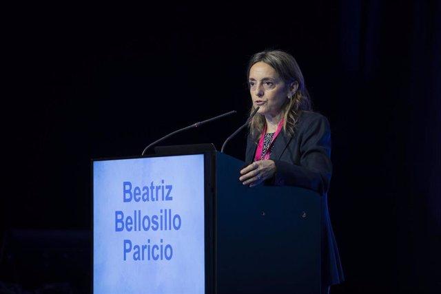 La doctora Beatriz Bellosillo durante el Congreso Nacional de Hematología, organizado en Valencia por la SEHH