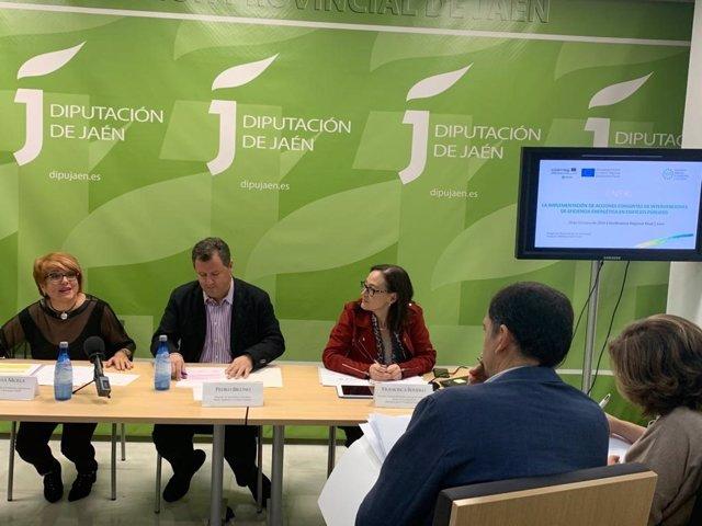 Inauguración de la conferencia final del proyecto europeo 'Enerj'.