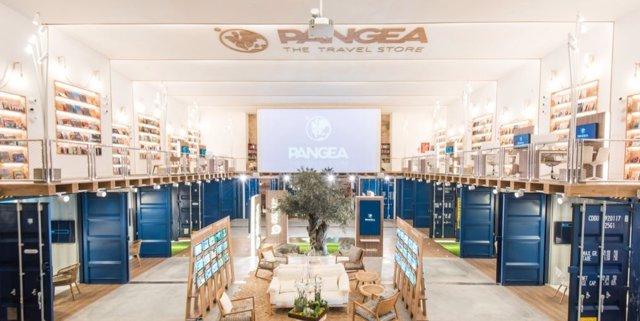 Agencia de viajes Pangea.