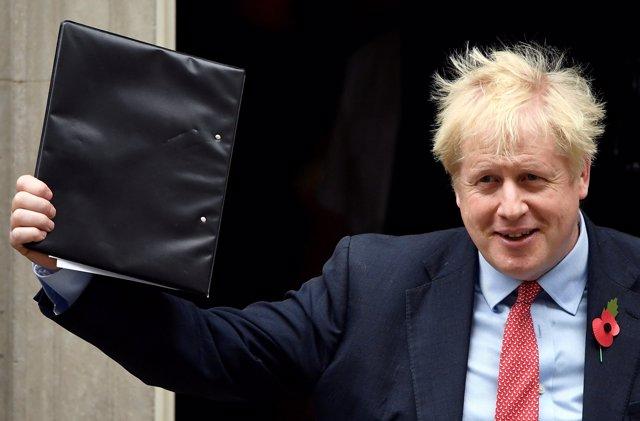 El primer ministro de Reino Unido, BorisJohnson.