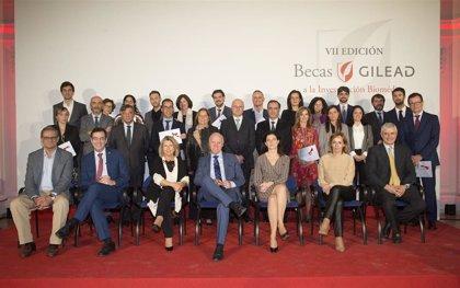Gilead entrega sus becas a la Innovación Médica a 18 proyectos de investigación de 7 CCAA