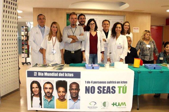 El Hospital Macarena de Sevilla celebra el Día Mundial del Ictus