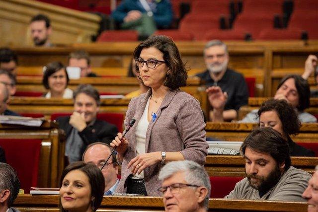 La portaveu socialista al Parlament de Catalunya, Eva Granados.