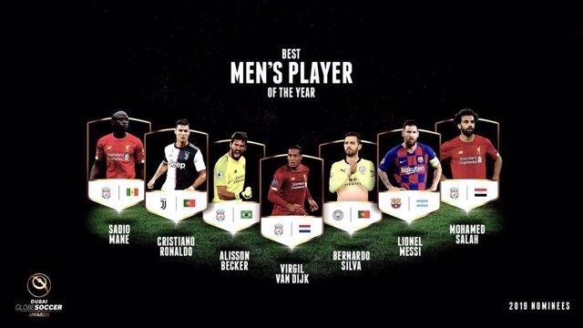 Fútbol.- Leo Messi, Joao Félix y Ansu Fati, nominados a los premios Globe Soccer