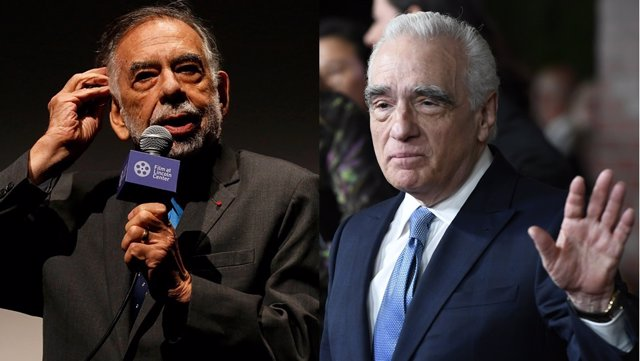 Martin Scorsese y Francis Ford Coppola