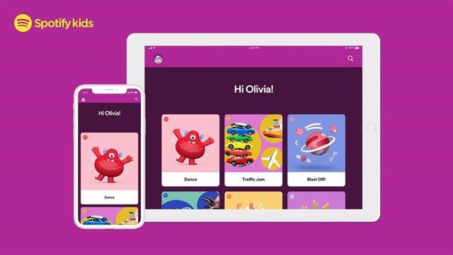 Spotify presenta la aplicación independiente para niños Spotify Kids
