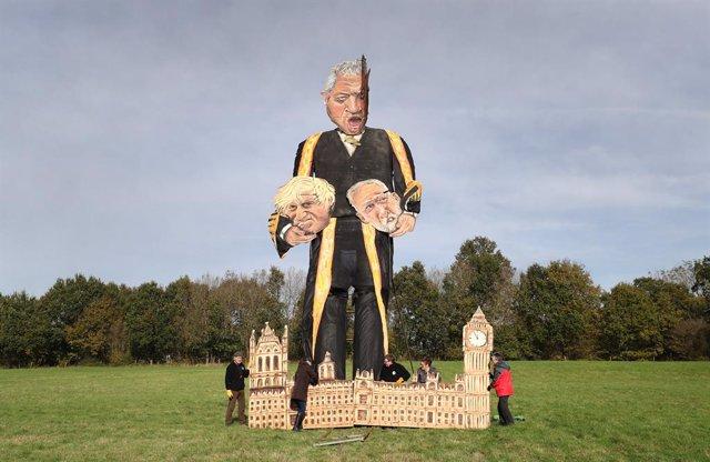 Brexit.- Una efigie del presidente de la Cámara de los Comunes arderá el sábado