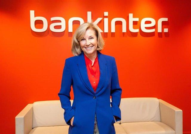 La consejera delegada de Bankinter, María Dolores Dancausa, en la presentación de resultados del primer semestre de 2019.