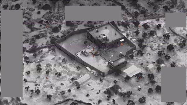 Siria/Irak.- EEUU publica las primeras imágenes y vídeos de la operación en la q
