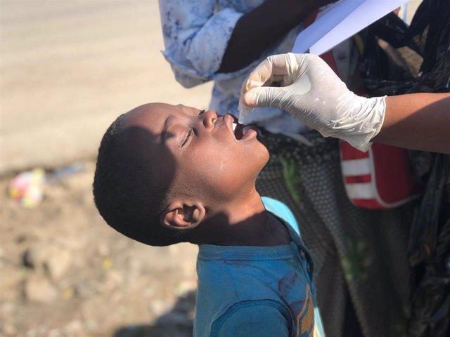 Campaña de vacunación contra el cólera en África de la OMS