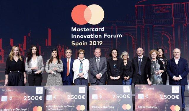 Entrega de los Premios al Joven Talento Científico Femenino, de FRACE y Mastercard