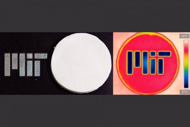 Nuevo material aislante oculta el logo a la luz visible y lo muestra a la infrarroja