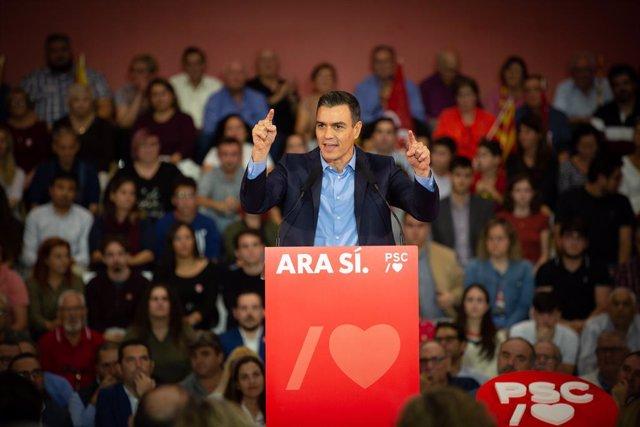 El presidente del Govern espanyol en funcions, Pedro Sánchez.