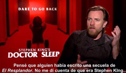 """Ewan McGregor protagoniza Doctor Sueño: """"Es una gran responsabilidad adaptar el trabajo de Stephen King"""""""