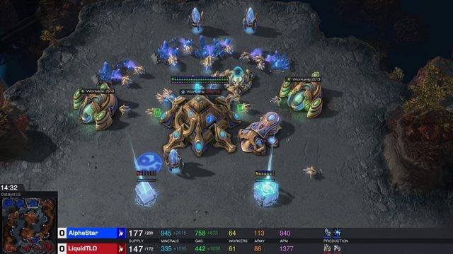 El sistema de IA AlphaStar derrota a los mejores jugadores de StarCraft II alcan