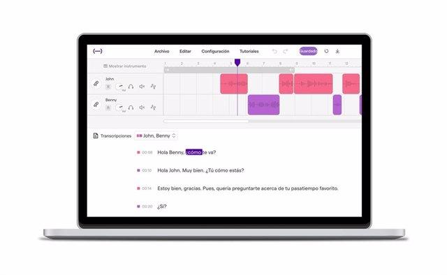 'Soundtrap for Storytellers' de Spotify lanza su función de transcripción en esp